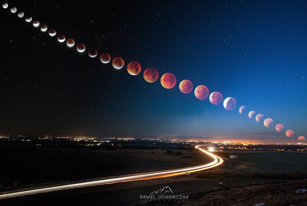 Cała droga Superksiężyca