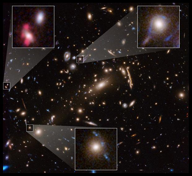 Teleskop Hubble'a weryfikuję teorię opisującą ciemną materię