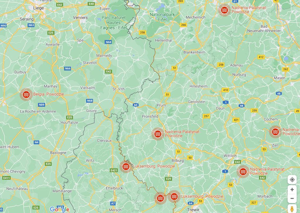 Niemcy - powodzie