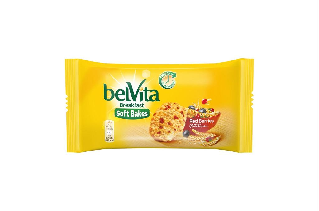 Belvita Soft Bakes Red Berry