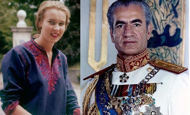 Księżniczka Maria Gabriela i Mohammad Reza Pahlawi