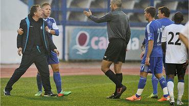 Zawisza zagrał z Dynamo Moskwa na zakończenie styczniowego obozu w Hiszpanii. Trener Tarasiewicz starł się wtedy z jednym z piłkarzy Dynama