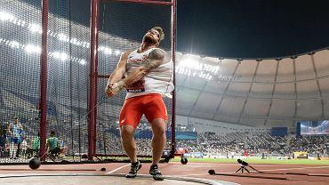Paweł Fajdek. Mistrzostwa Świata w Lekkoatletyce Doha 2019. Katar, 2 października 2019