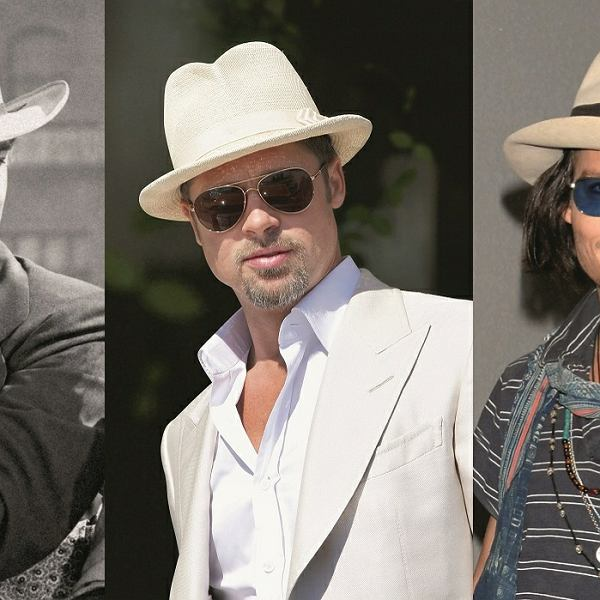Clark Gable, Brat Pitt, Johnny Deep