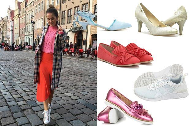 Kolaż, buty na wiosnę/Materiały partnera