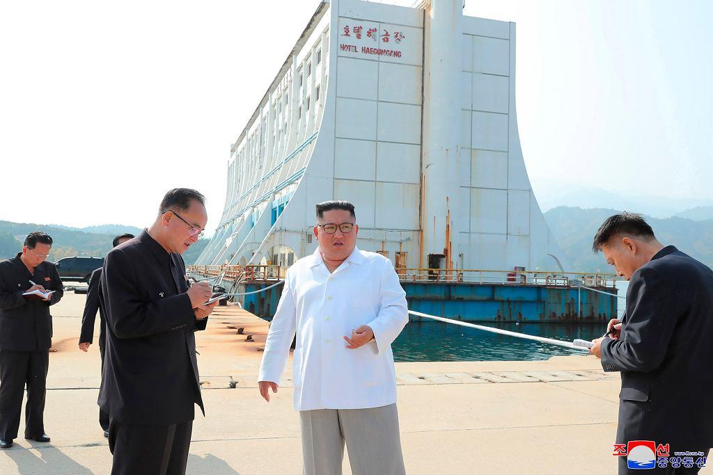Kim Dzong Un zamierza unowocześnić rejon Gór Diamentowych
