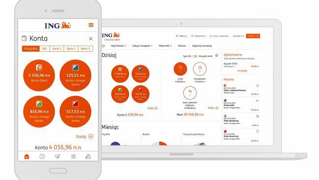 ING Bank Śląski wprowadza nowość. Wchodzisz do e-bankowości, a tam konta w mBanku albo w Millennium