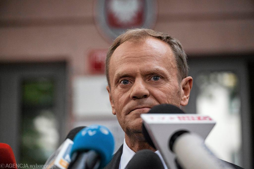#Donald Tusk w Prokuraturze Krajowej