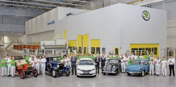 Skoda | 19 milionów wyprodukowanych samochodów