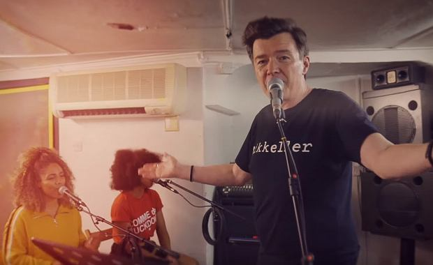 Rick Astley - Every One of Us (Rehearsal Video)