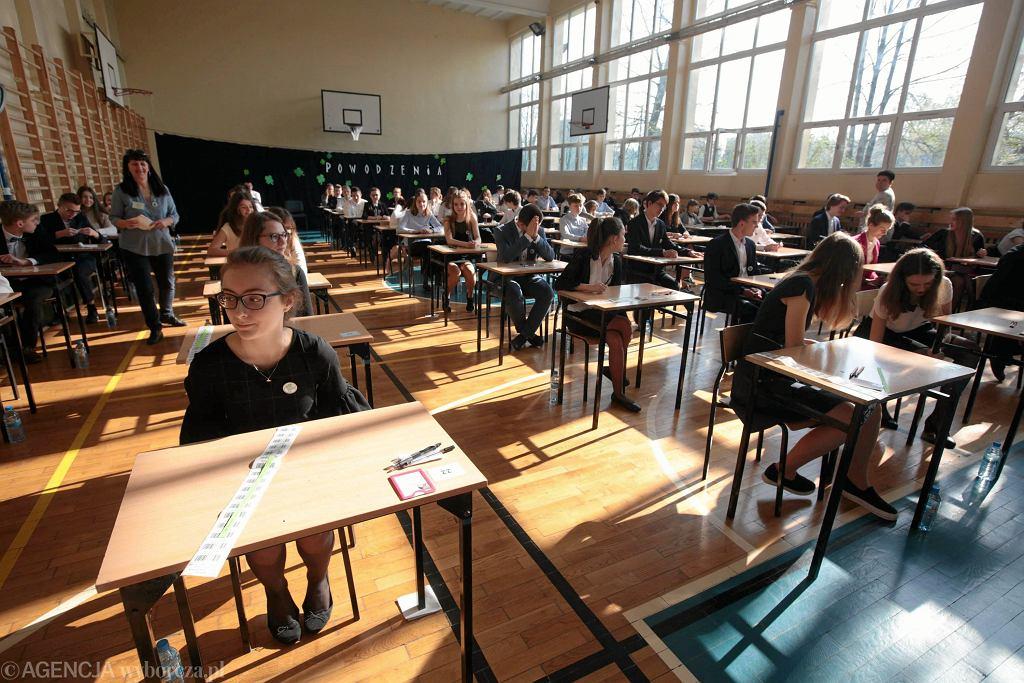 Egzamin gimnazjalny. Język polski