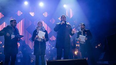 Paweł Adamowicz w czasie 'światełka do nieba'