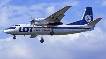 An-24 linii LOT. Taki jak ten rozbił się w Białobrzegach