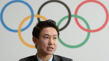 Kazach Denis Ten, brązowy medalista z Soczi w łyżwiarstwie figurowym