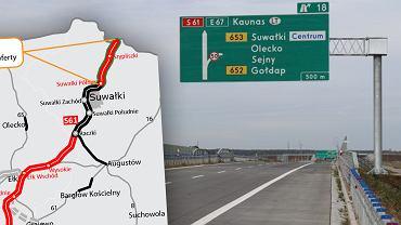 GDDKiA rozstrzygnęła przetarg na kolejne odcinki drogi S61. To fragment szlaku Via Baltica