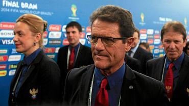 Trener reprezentacji Rosji Fabio Capello