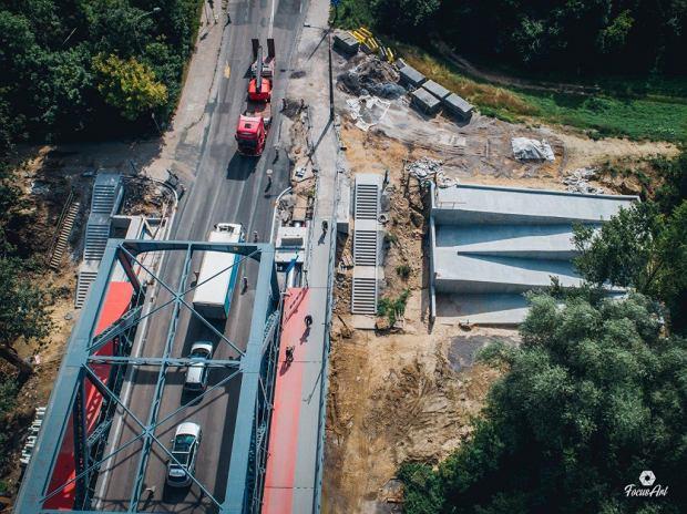 Zdjęcie numer 9 w galerii - Modernizacja mostu im. Piłsudskiego za 123 mln zł. Tak wygląda z drona
