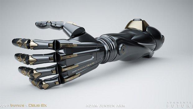 Nowa proteza wzorowana na ręce Adama Jensena z gier Deus Ex