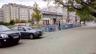 Stacja Veturilo zamiast parkingu