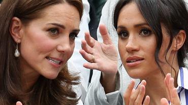 Księżna Kate i Meghan Markle