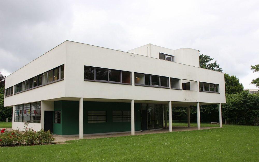 Willa Savoye, projekt Le Corbusier / Wikimedia Commons