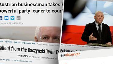 Zachodnia prasa komentuje 'taśmy Kaczyńskiego'