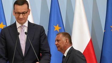 PO i Lewica nie pomogą PiS w odwołaniu Mariana Banasia / Fot. Sławomir Kamiński / Agencja Gazeta