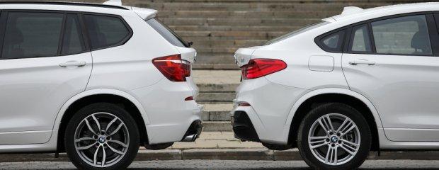 BMW X3 xDrive28i i BMW X4 xDrive30d