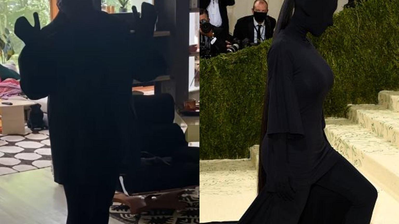 Kasia Nosowska parodiuje Kim Kardashian. Przebra