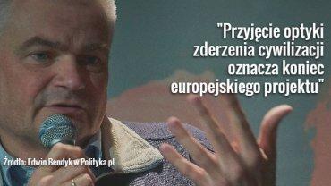 """Edwin Bendyk w """"Polityce"""""""