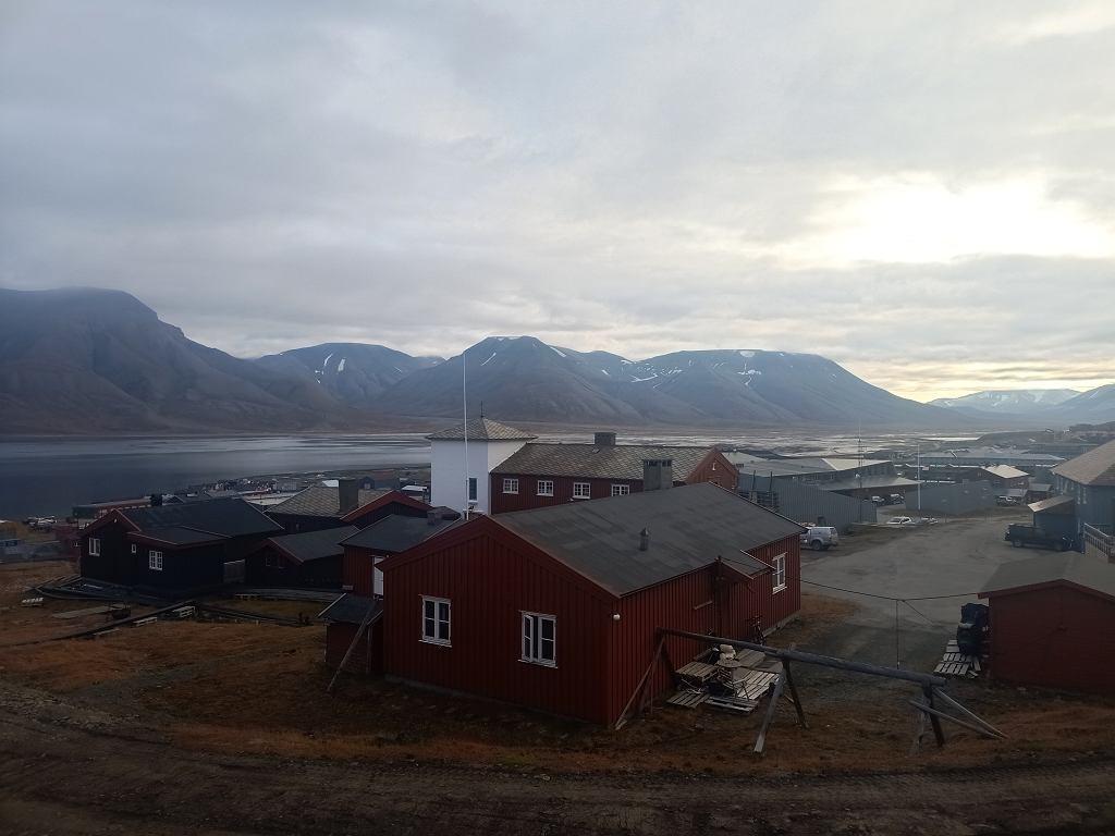Longyearbyen, Spitsbergen, archipelag Svalbard.