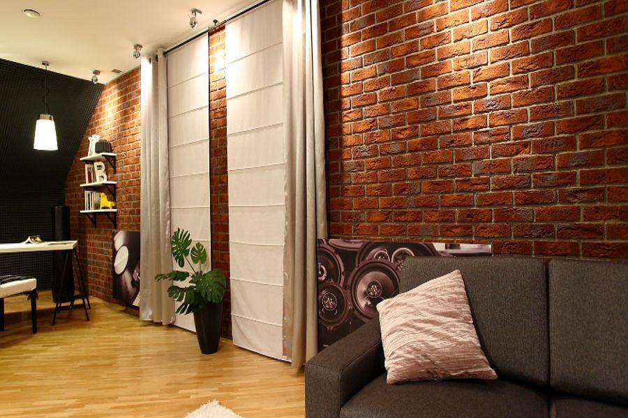 Cegły i kamienie dekoracyjne to świetny pomysł na stworzenie oryginalnego wnętrza