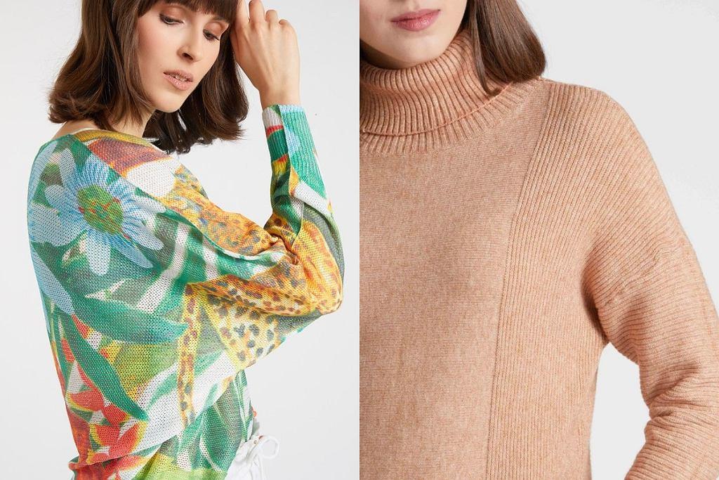 modne swetry na jesień