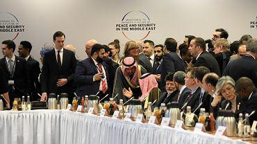 Konferencja bliskowschodnia na Stadionie Narodowym w Warszawie, 14 lutego 2019 r.