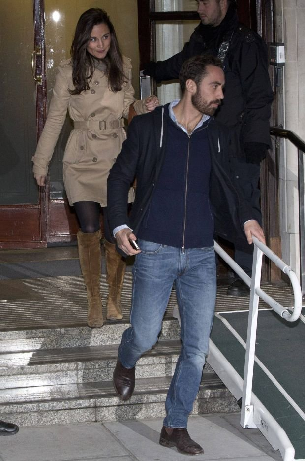 Pippa Middleton , James Middleton