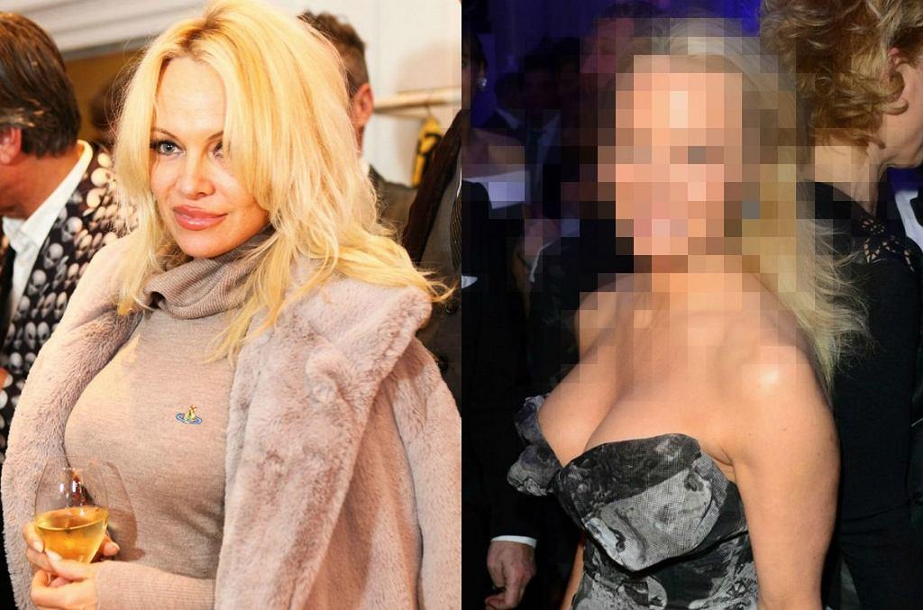 Pamela Anderson w grudniu i teraz