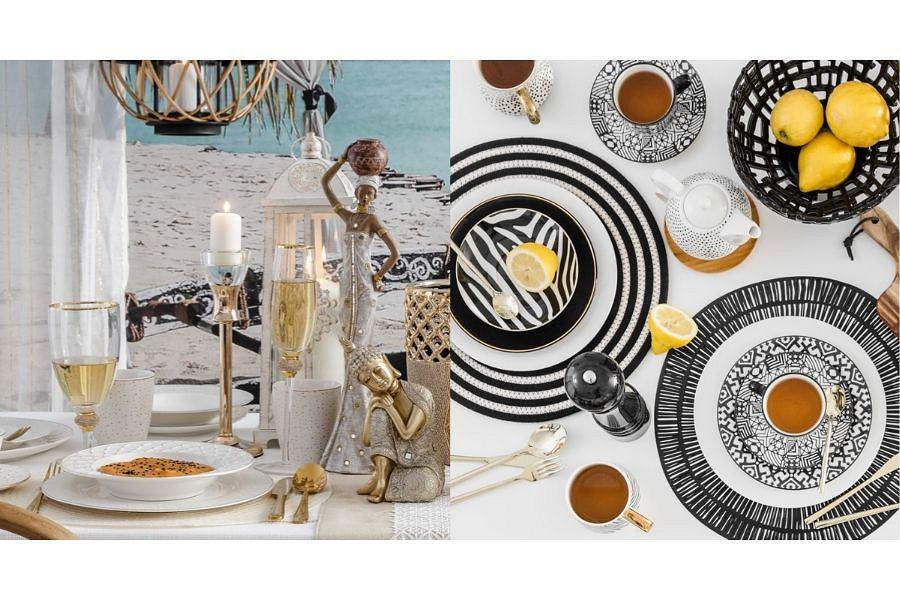 Dekoracje i dodatki od Home & You. Misa dekoracyjna Etno i świecznik Lupo Są teraz tańsze o -70%