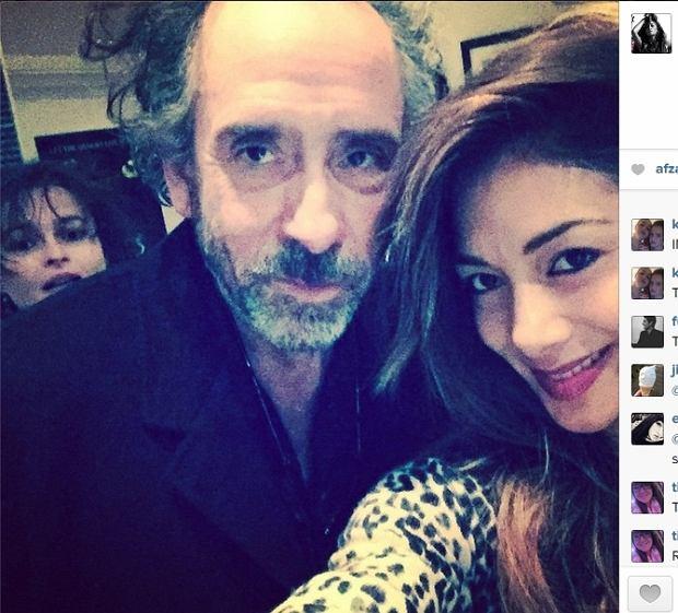Helena Bonham Carter, Tim Burton i Nicole Scherzinger
