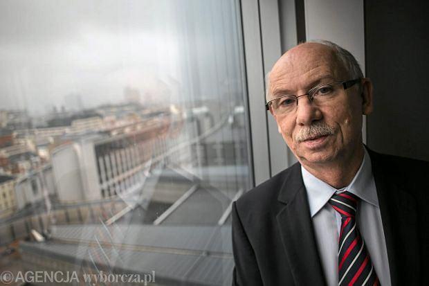 Eurodeputowany PO Janusz Lewandowski