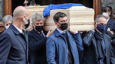 Dom Paolo Rossiego okradziony w trakcie pogrzebu. Włamanie zgłosiła żona