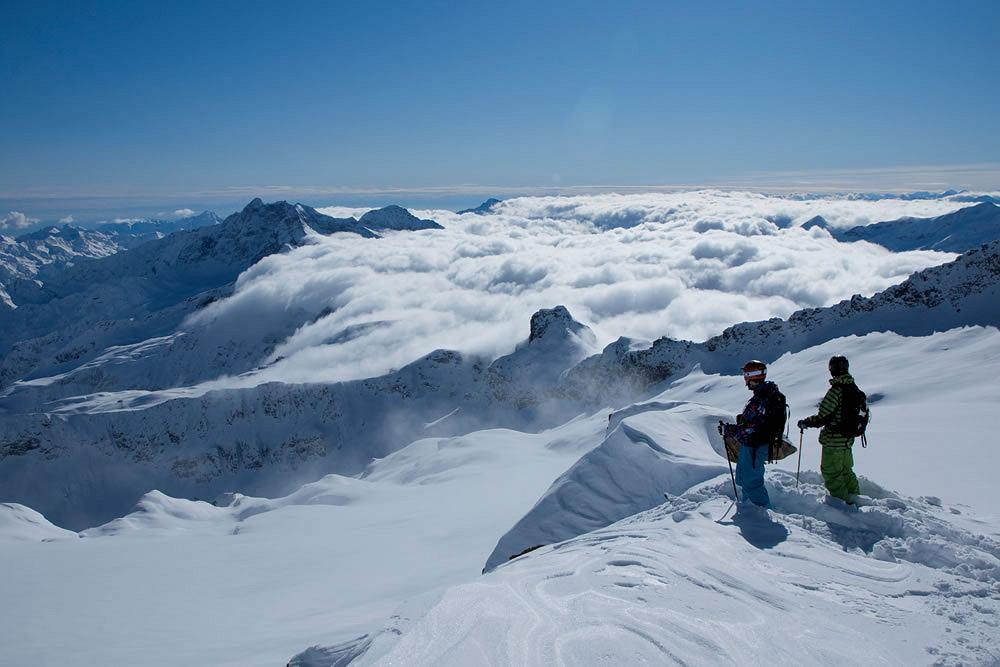 Narty we Włoszech - Valle d'Aosta - włosko-francuska dolina u podnóża Mont Blanc