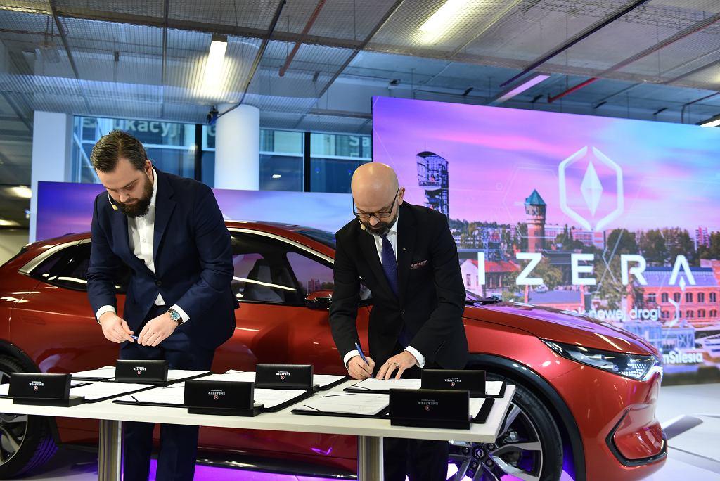 Podpisanie memorandum dot. wsparcia dla budowy fabryki samochodów elektrycznych Izera