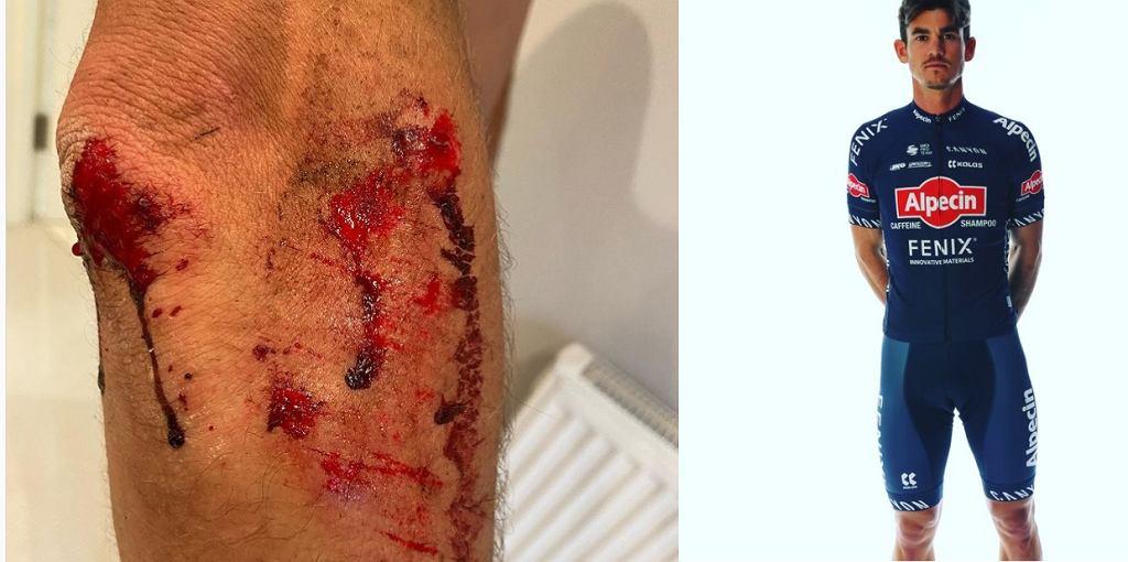 Brutalny atak na brytyjskiego kolarza