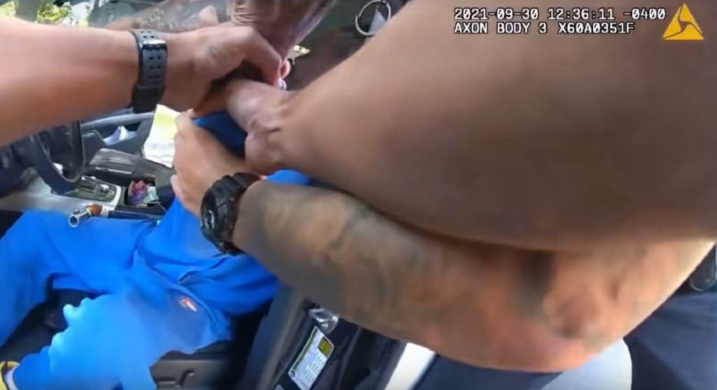 Interwencja policji w Dayton