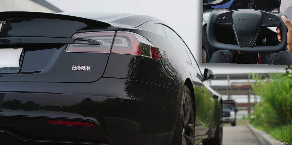 Tesla Model S Plaid w ocenie MKBHD