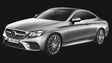 Wizualizacja Mercedesa E Coupe