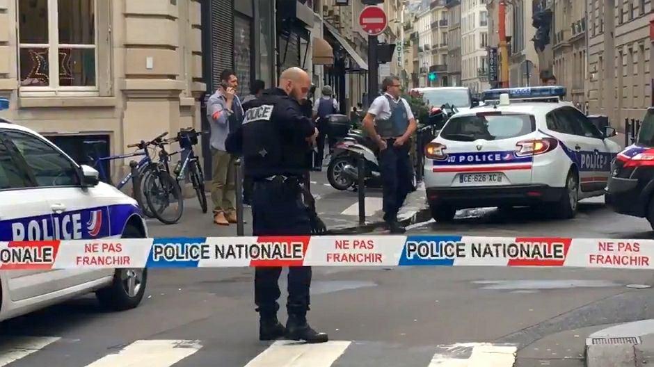 Napastnik wziął zakładników w 10. dzielnicy Paryża