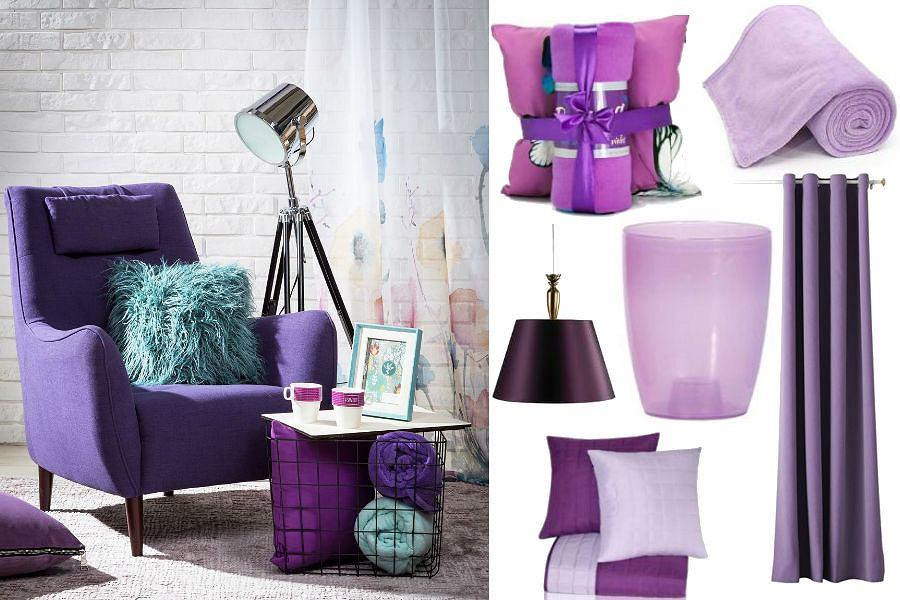 Dodatki w kolorze Ultra Violet