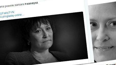 Barbara Falandysz zmarła w wieku 56 lat