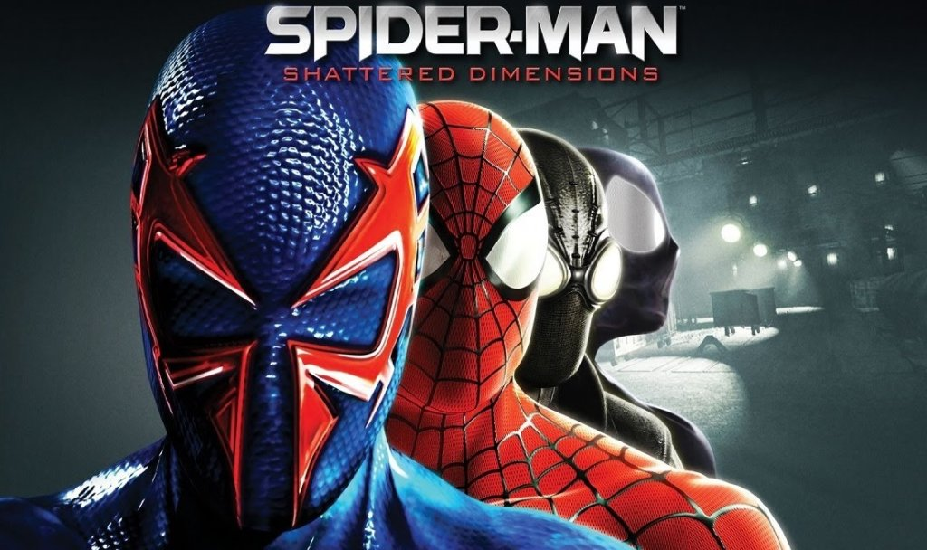 Spiderman: Shattered Dimensions - okładka